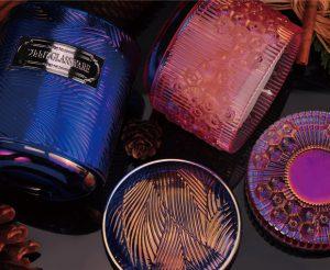 叶脉与珊瑚香氛蜡系列