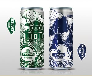 青岛啤酒崂山风光系列